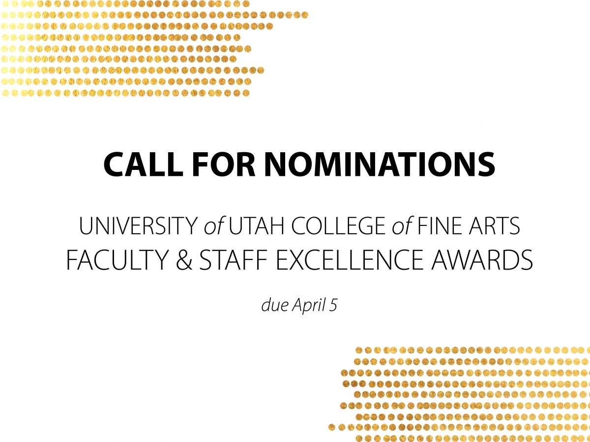 Call for nominations: Faculty & Staff Excellence Awards