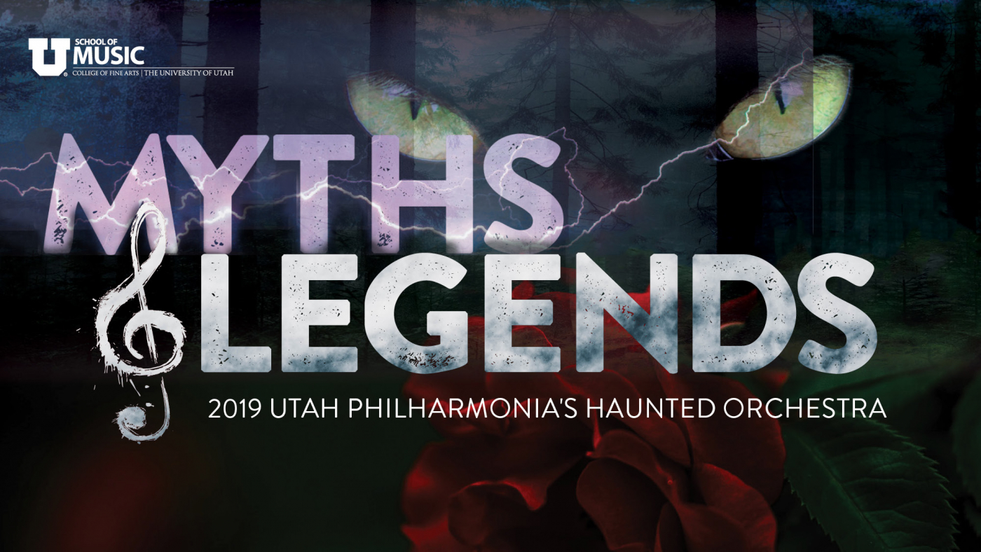 Utah Philharmonia presents the 18th annual Haunted Orchestra: Myths and Legends