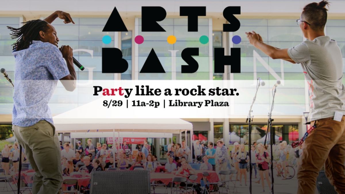 It's time to party like a rock star at Arts Bash