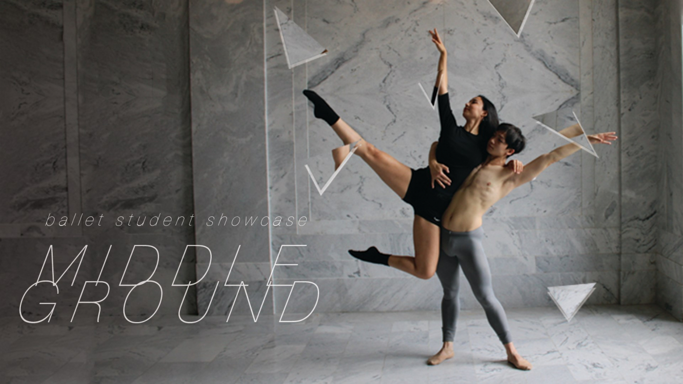 11 fresh dances presented in MIDDLEGROUND