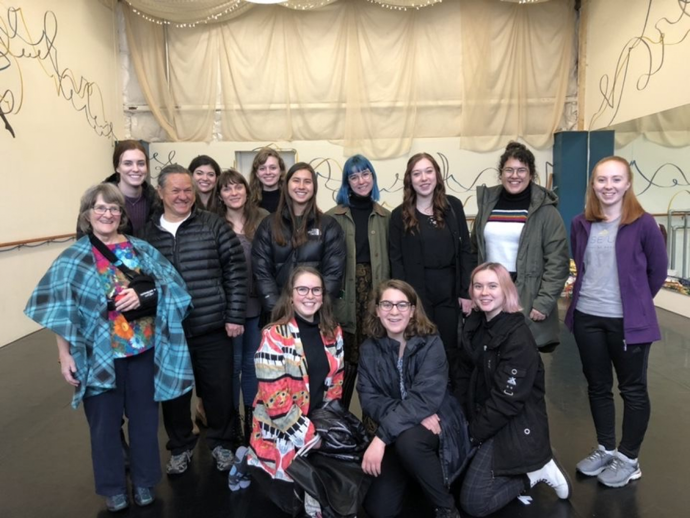 ArtsForce and CFA students visit Rise Up School of Dance