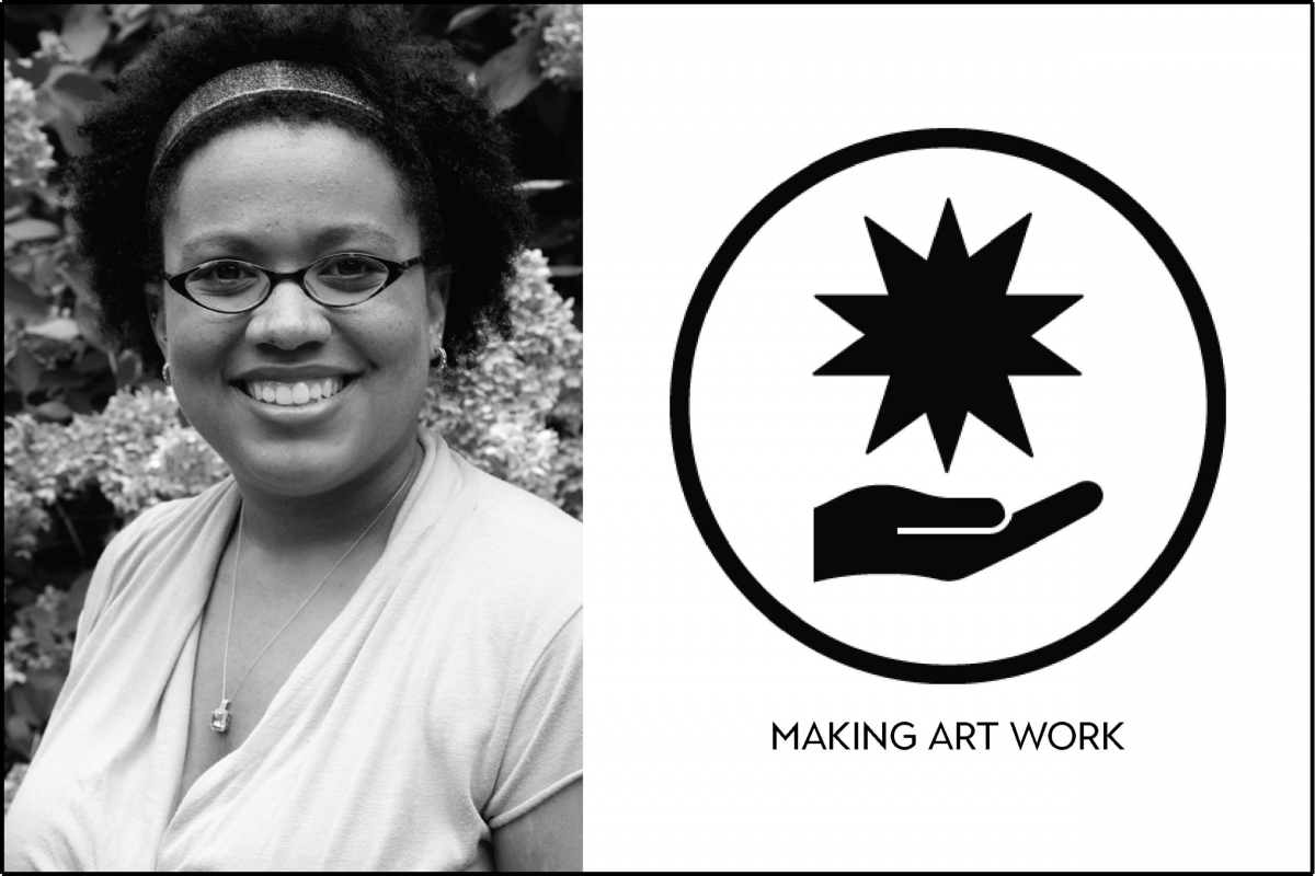 Introducing our new blog series, MAKING ART WORK, No. 1: Martine Kei Green-Rogers
